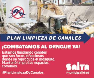 Municipalidad de Salta - Limpieza de calanes